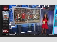 Cassidy Hubbarth in a Short Red Dress YouTube