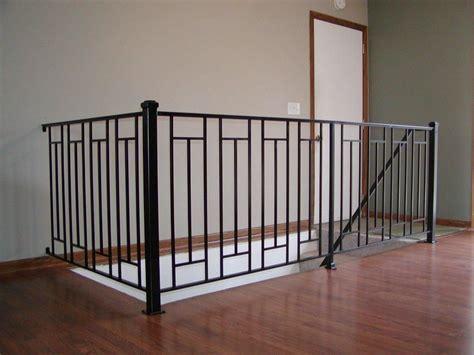 Metal Banister by Custom Interior Iron Railing Interior Iron Railings