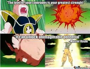 Master Roshi qu... Dragon Ball Cell Quotes