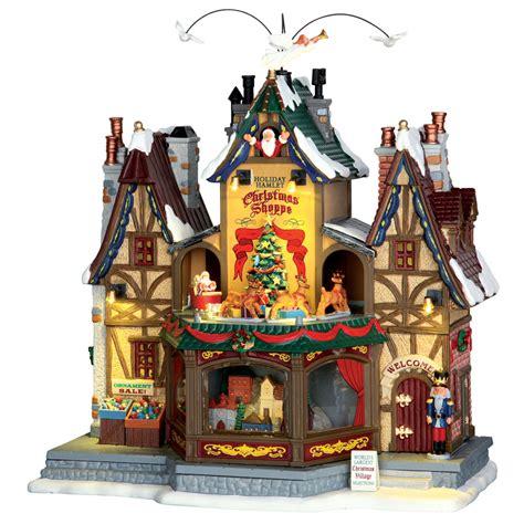 lemax holiday hamlet christmas shoppe sights sounds