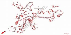 Wire Harness  Battery For Honda Crf 230 F 2016   Honda