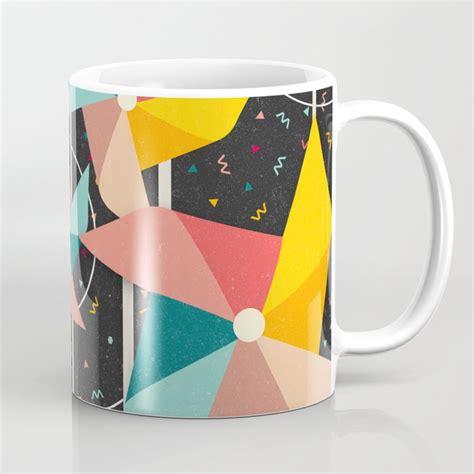 colourful pinwheels mug by danny ivan society6