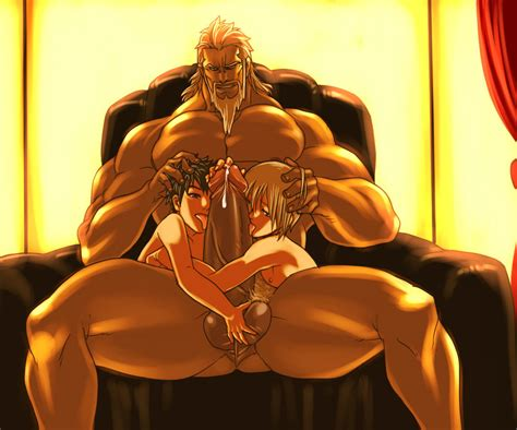 Rule 34 3males Abs Age Difference Beard Big Balls Big