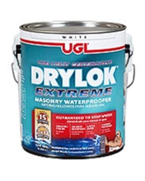 ugl drylok extreme latex masonry waterproofer