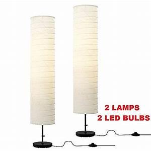 Ikea holmo floor lamp light bulb nazarmcom for Paper floor lamp amazon