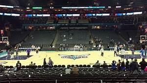 Spectrum Arena Seating Chart Spectrum Center Section 114 Charlotte Hornets
