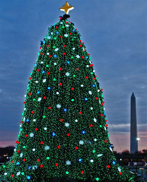 find flights to the national christmas tree lighting dc