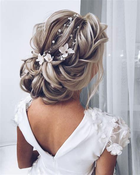 long wedding hairstyles  bride  elstiles