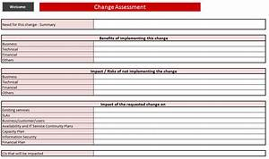 itil change management toolkit rfc With itil document templates