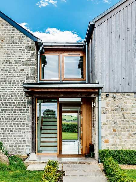 country kitchen island timber clad extension to an cottage homebuilding