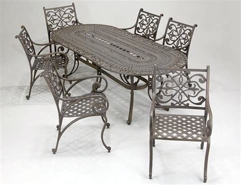 used white wrought iron patio furniture chicpeastudio
