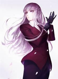 #long hair, #purple hair, #purple eyes, #anime, #anime ...