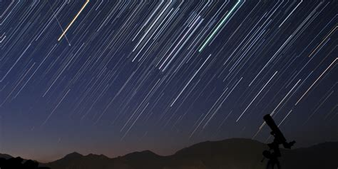 Today S Meteor Shower - lyrid meteor shower 2014 to peak on earth day huffpost