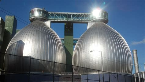 newtown creek wastewater treatment facility steel