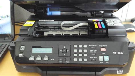 Replace ink cartridge Epson WF-2530 - YouTube