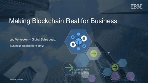 blockchain real for business at the quot z systems agile enterpris