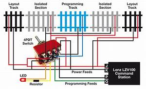 More On Wiring The Lenz Dcc Programming Track U2026