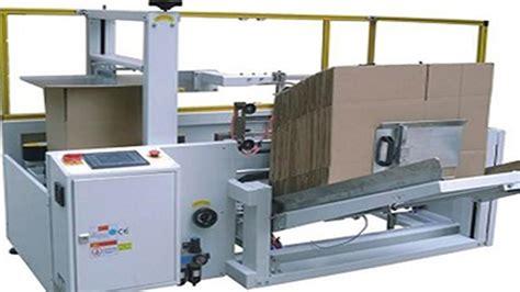 carton opening sealing machine fully automatic integrated  packaging maquinas de sellado