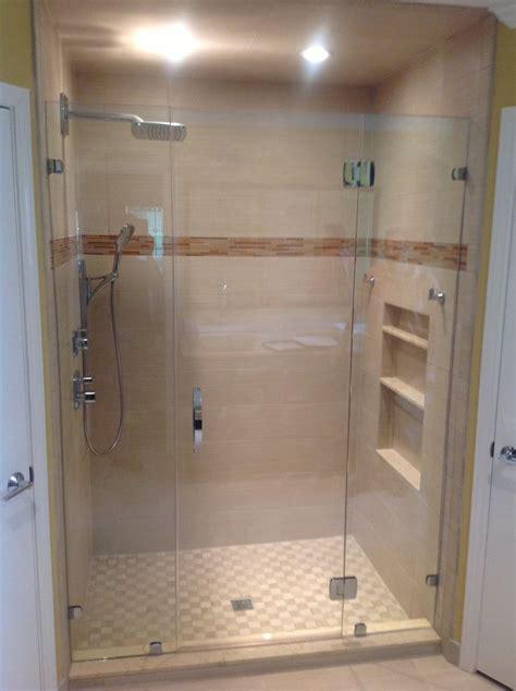 frameless shower doors images  pinterest