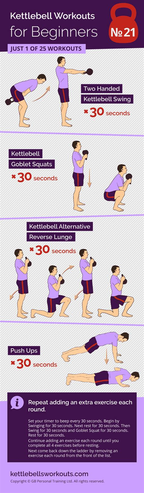 kettlebell ladder workout movement exercises workouts beginners squat handed
