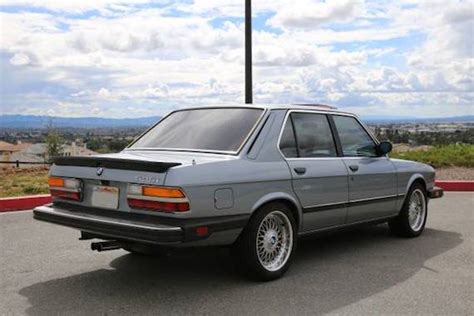 1986 Bmw 535i by 1986 Bmw 535i German Cars For Sale