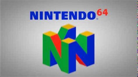 Nintendo 64 Logo Remake Hd Youtube
