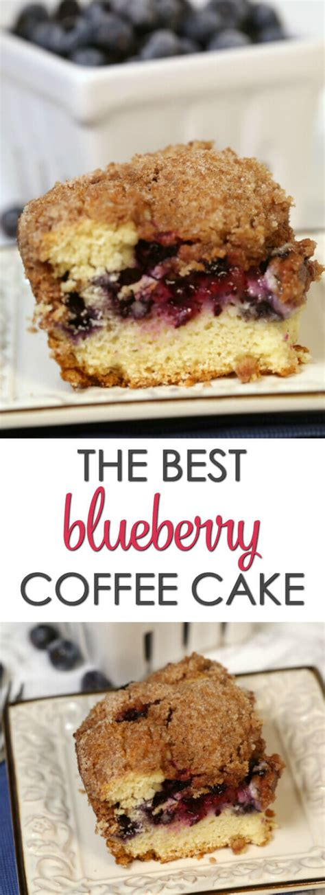 Delicious and easy to make. The BEST Blueberry Coffee Cake | It Is a Keeper