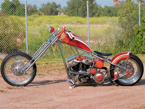 1961 Harley Davidson Custom Chopper Left Side