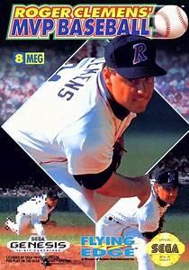 Roger Clemens Mvp Baseball Sega Genesis