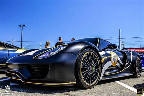 Veyron Super Sport Vs. 918 Spyder During Gold Rush Rally