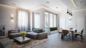Décoration Appartement Moderne : d coration int rieure d 39 un appartement chic inspiration d ~ Nature-et-papiers.com Idées de Décoration