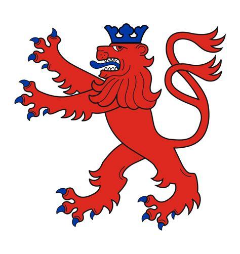 bergischer loewe coats  arms wikimedia commons