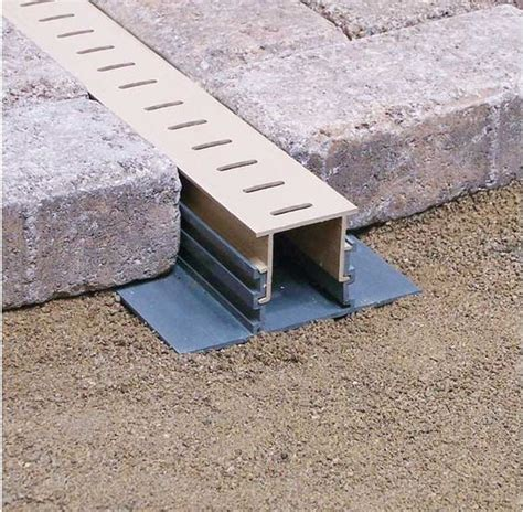 maybe something like this stegmeier paver drain to the
