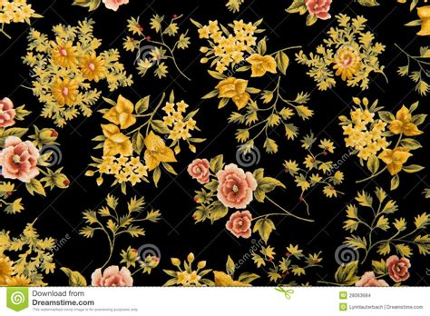 floral fabric black background stock photo image  expensive black