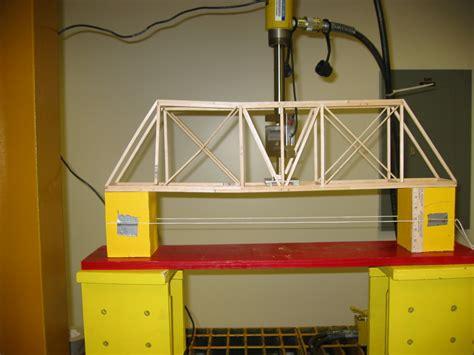 balsa wood bridge project report plans  build  twin