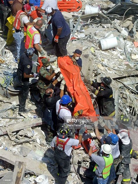 Bodies Are Pulled From The Rubble Of The World Trade