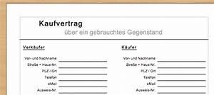 Formlose Rechnung : kostenloser kaufvertrag f r gebrauchte gegenst nde ~ Themetempest.com Abrechnung