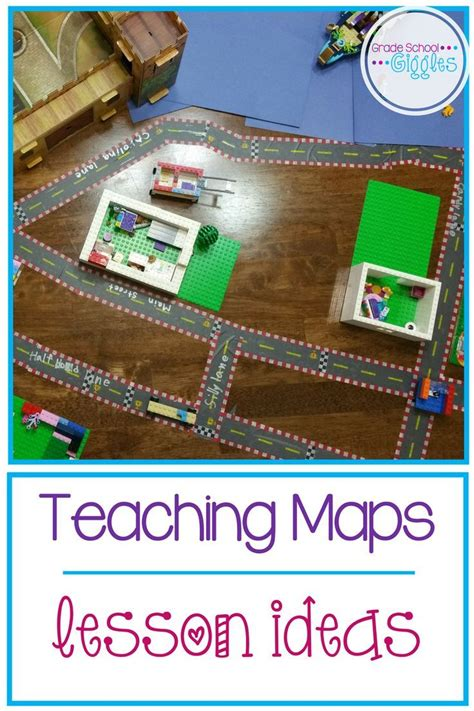 lesson plan for teaching directions 259 best images about map skills on pinterest