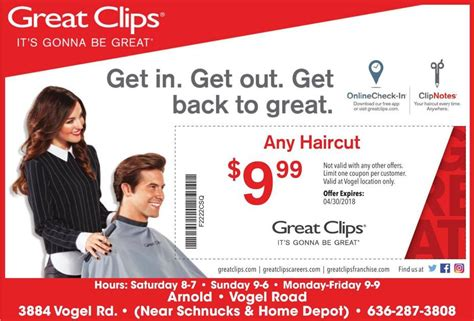 great clips coupons offers myleaderpapercom