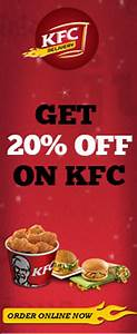 """""""Lick your finger with KFC @Zee Coupons. Huge discount ..."""
