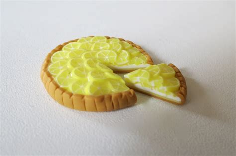 tuto fimo la tarte au citron polymer clay tutorial the lemon pie