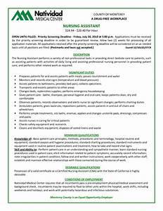 top 10 duties of a certified nursing assistant With cna duties resume