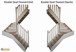 Escalier 1 4 Tournant Gauche : escalier double quart tournant en h tre levigne ~ Dode.kayakingforconservation.com Idées de Décoration