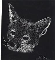 Easy Scratch Art Animals