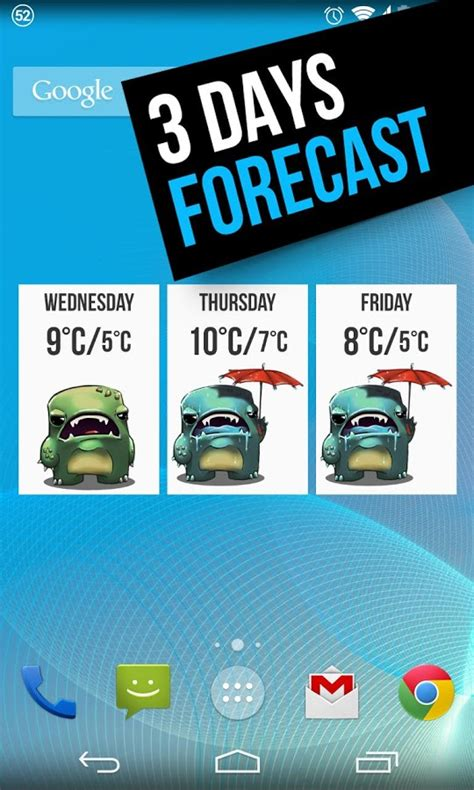 weather widget grumpy cool apps android material widgets