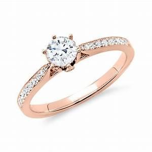 Tiffany Ring Verlobung : unique ring 585er ros gold f r diamanten dr0117sl 14kr v e r l o b u n g pinterest ring ~ Orissabook.com Haus und Dekorationen