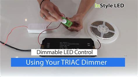 How Set Use Your Led Strip Light Triac Transformer