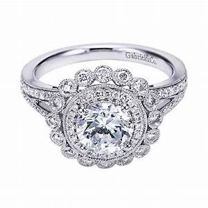 round antique engagement rings wedding and bridal With vintage round wedding rings