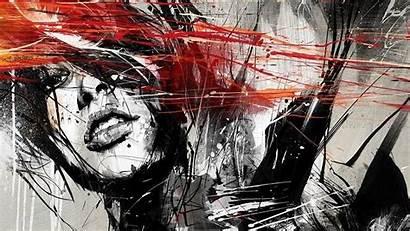 Wallpapers Painting Abstract Digital Desktop Geometric Paintings