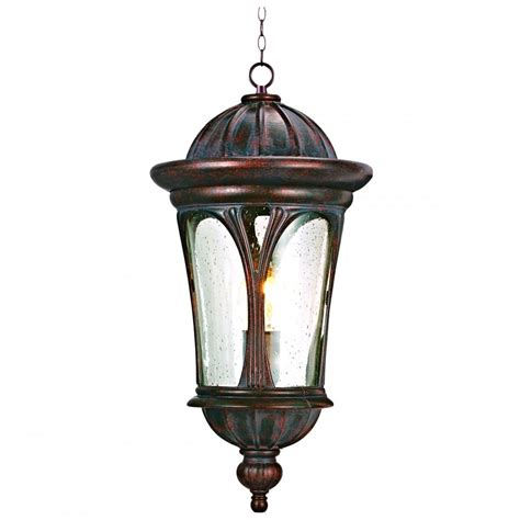 5184br canada outdoor pendant brown clear glass